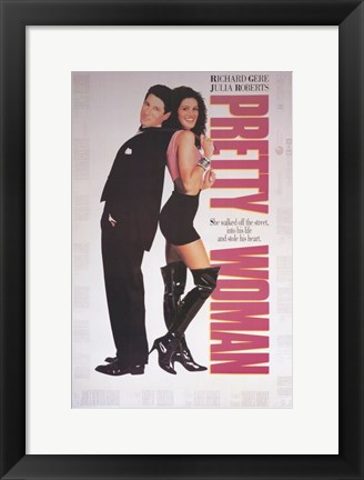 Framed Pretty Woman Print