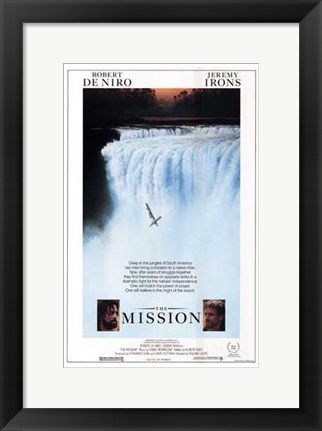Framed Mission Print