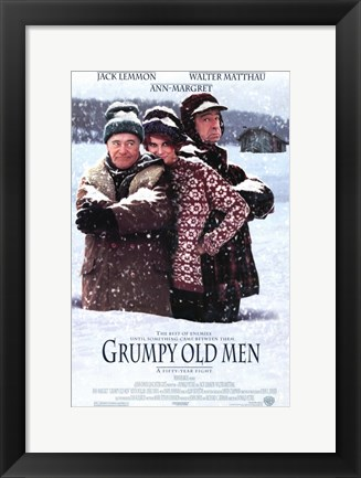 Framed Grumpy Old Men Print