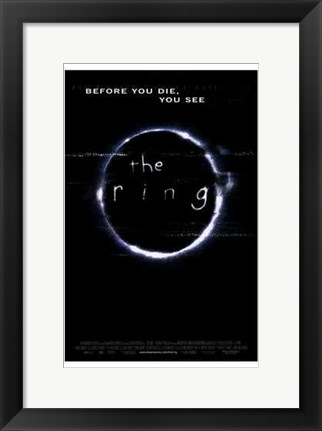 Framed Ring Before You Die You See Print