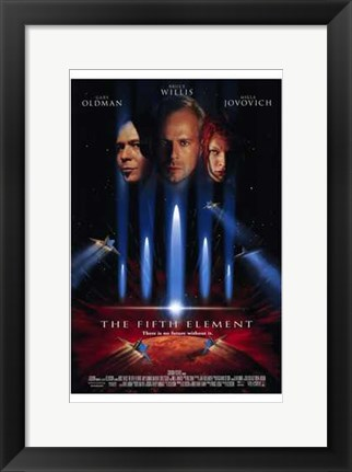 Framed Fifth Element Print