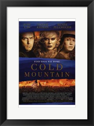 Framed Cold Mountain Print