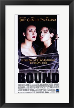 Framed Bound - Two Women Print