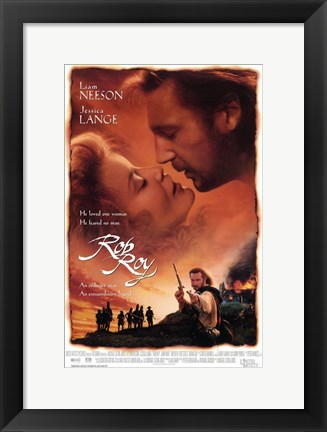 Framed Rob Roy Neeson And Lange Print