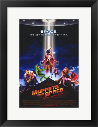 Framed Muppets from Space Print