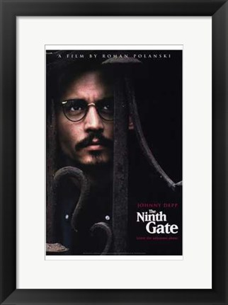 Framed Ninth Gate By Roman Polanski Print