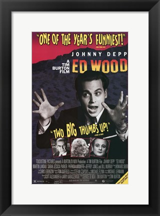 Framed Ed Wood Print