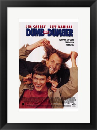Framed Dumb and Dumber Print