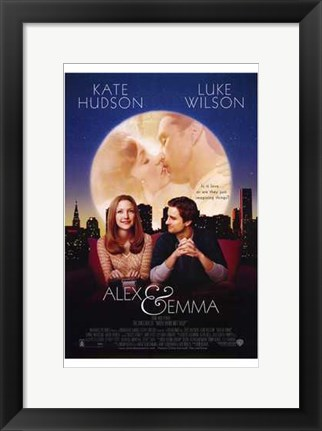 Framed Alex and Emma Print