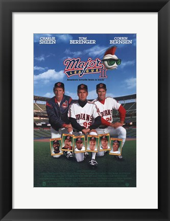 Framed Major League 2 Print