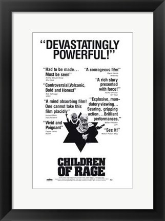 Framed Children of Rage Print