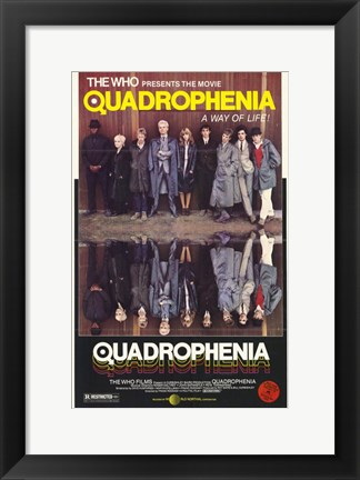 Framed Quadrophenia A Way of Life Print