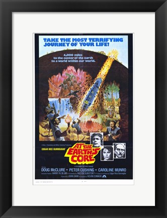 Framed At the Earth's Core, c.1976 Print