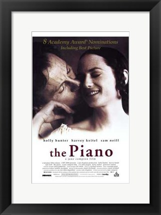 Framed Piano Film Poster Print