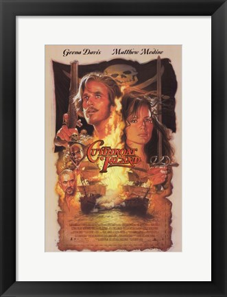Framed Cutthroat Island Print