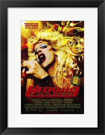 Framed Hedwig and the Angry Inch Print