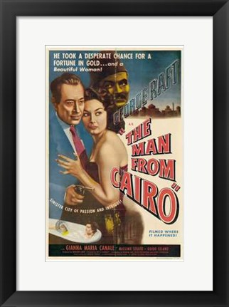 Framed Man from Cairo Print