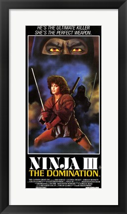 Framed Ninja 3: the Domination Print