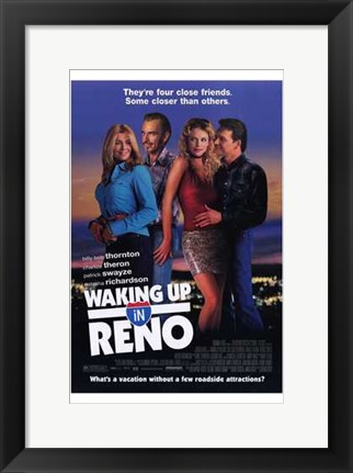 Framed Waking Up in Reno Print