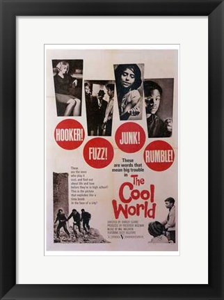 Framed Cool World Print