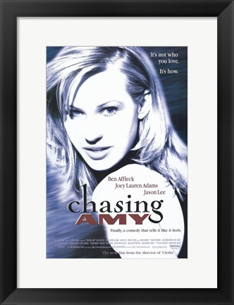 Framed Chasing Amy Joey Lauren Adams Print