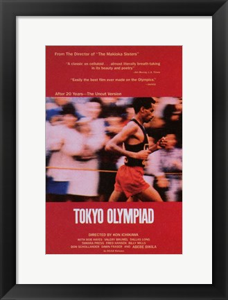 Framed Tokyo Olympiad (movie poster) Print