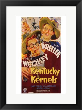 Framed Kentucky Kernels Print