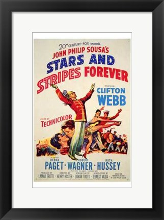 Framed Stars and Stripes Forever Print