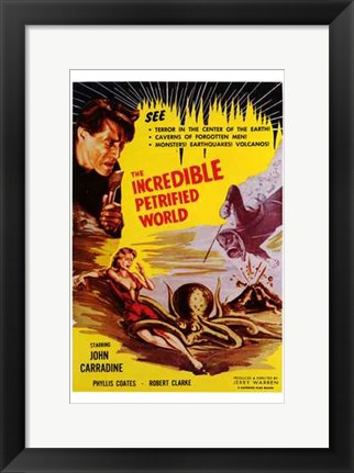 Framed Incredible Petrified World Print
