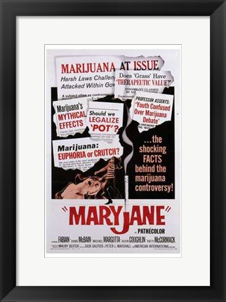 Framed Maryjane Print