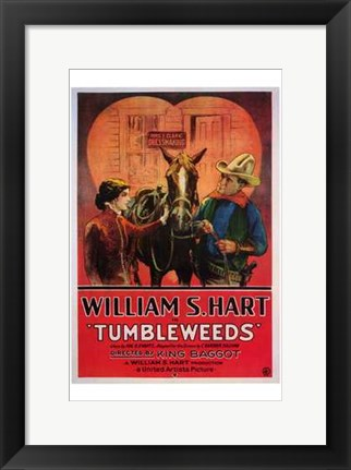 Framed Tumbleweeds The Film Print