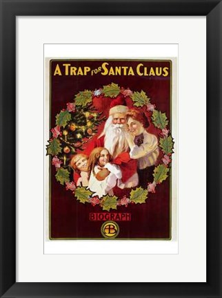Framed Trap for Santa Claus  a Print