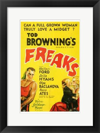 Framed Freaks - Yellow Print