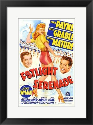Framed Footlight Serenade Print
