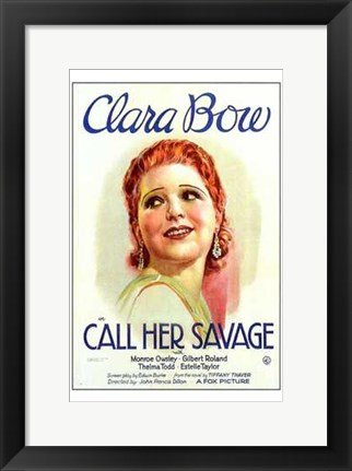 Framed Call Her Savage Print