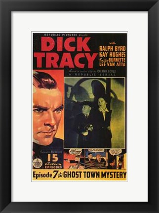 Framed Dick Tracy Comic: Episode 7 Print