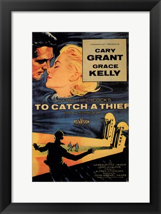 Framed to Catch a Thief Grace Kelly Print