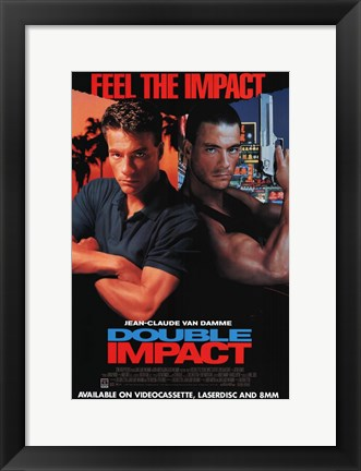 Framed Double Impact Print