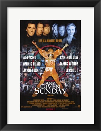 Framed Any Given Sunday Print