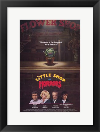 Framed Little Shop of Horrors Print