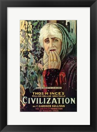 Framed Civilization Print