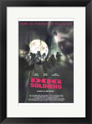 Framed Dog Soldiers Print
