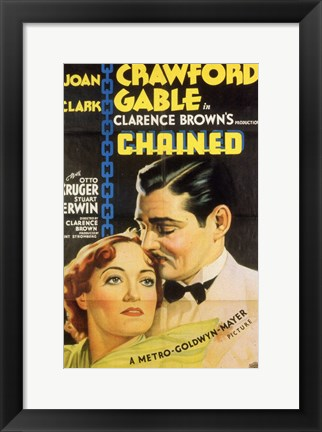 Framed Chained Print