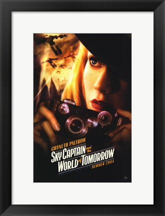 Framed Sky Captain and the World of Tomorrow - style A Print