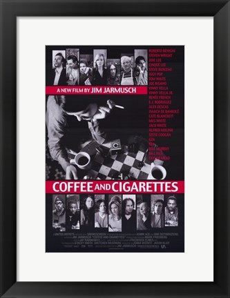 Framed Coffee and Cigarettes Print