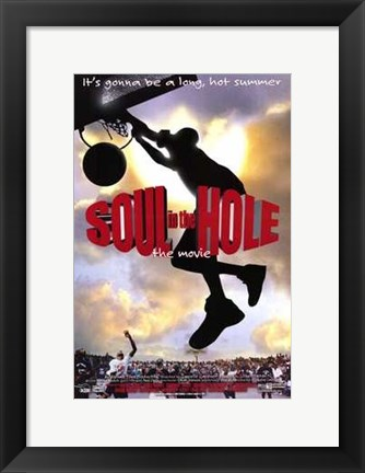 Framed Soul in the Hole Print