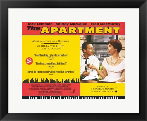 Framed Apartment - wide Print