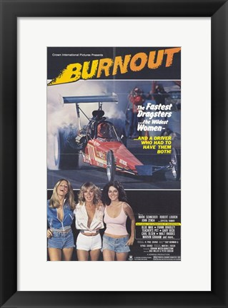 Framed Burnout Print