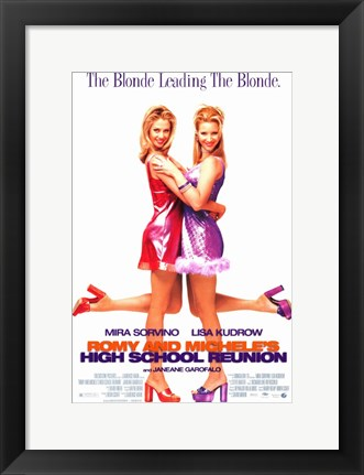 Framed Romy and Michelle's High School Reunion Print