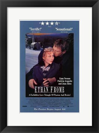 Framed Ethan Frome Print